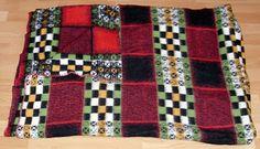 vintage blanket sample from our collection label TETEM
