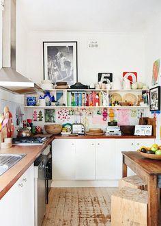 15 Shabby Chic Bohemian Kitchen Ideas