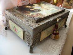 Шкатулка Красотка - Ярмарка Мастеров - ручная работа, handmade