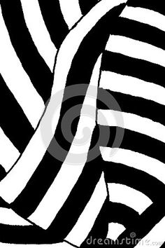 A black and white op art pattern.
