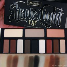 Review, swatches and makeup looks using the new Kat Von D Shade & Light Eye Contour Palette!