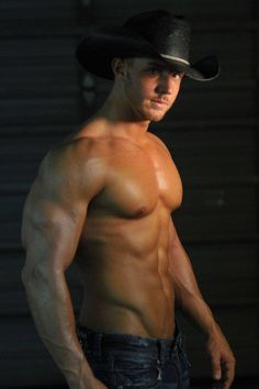 Another sexy cowboy :)