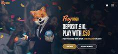 Foxy Bingo is one of the top online bingo sites in the UK. Play Bingo Games with massive jackpots and try Foxy Bingo out with a free bingo bonus of Get the latest bingo bonus codes here! Foxy Bingo, Bingo Bonus, Bingo Sites, Top Rated, Movie Posters, Film Poster, Film Posters