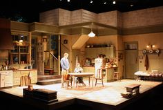 Crimes of the Heart. South Coast Repertory. Scenic design by Tom Buderwitz.
