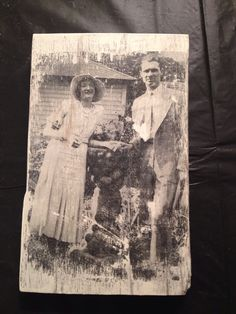 Preserve precious vintage family photos, transferred onto wood. Great personal family gift https://www.etsy.com/shop/Singingheartdesigns