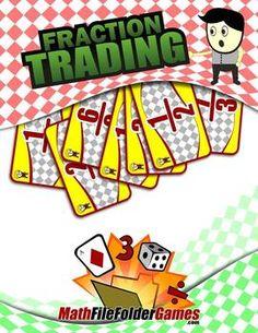 Fraction Trading a Equivalent Fractions Game http://www.teacherspayteachers.com/Product/Fraction-Trading-a-Equivalent-Fractions-Game-1183161