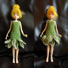 Tinker Bell - free crochet pattern