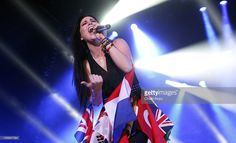 Amy Lee of Evanescence performs at Wembley Arena on November 9, 2012 in London…