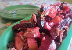 My Favorite Beet Salad is nutritious and delicious. If you don't have fresh beets use canned beets. The dressing is simple and easy to make. Its so good. Give it a try!