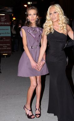 Allegra Versace, fighting anorexia for years