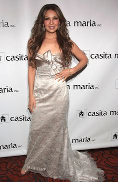 @Lady T Singer Thalia attends the Fiesta 2008 hosted by Casita Maria at the Mandarin Oriental Hotel on October 14, 2008 in New York City.