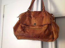 En Main Bags Vintage A Pieces Cuir Grand Sac Camelpursesamp; uOZkPXiT