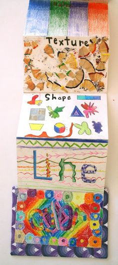 Monument Valley Regional Middle School Art Class: Art Elements Bound Books, 5th Grade