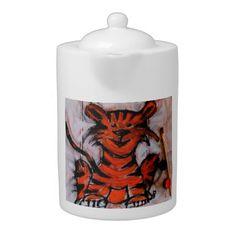 little tiger teapot