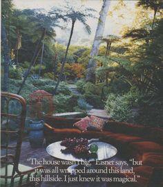 Lisa Eisner's garden in L.A. (photo: Lisa Eisner)