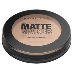 Maybelline New York Matte Maker Mattifying Puder, 20 Nude Beige, Pack x 16 g) New York, Maker, Makeup Trends, Eyeshadow, Nude, Beige, Gramm, Shopping, Products