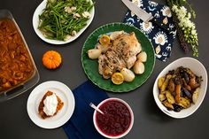 How to Cook an Entire Thanksgiving in Under 60 Minutes! The Roasted Turkey Breast is a Great idea!