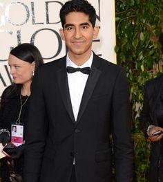 Dev Patel #GoldenGlobes #redcarpet