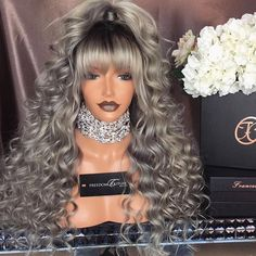 If you want to bring out the beauty of your crowning glory and emphasize your looks, it's really good that you start buying hair products such as hair color, Wig Styles, Curly Hair Styles, Natural Hair Styles, Lace Front Wigs, Lace Wigs, Glam Hair, Hair Laid, Pinterest Hair, Black Girls Hairstyles