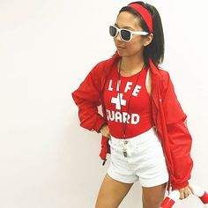 Pin for Later: 105 DIY Costumes For Women You'll Be OBSESSED With Lifeguard