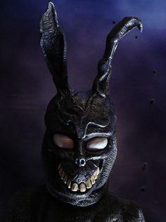 Donnie Darko FRANK_2 | Flickr - Photo Sharing! Monster Squad, Monster Mask, Halloween Horror, Halloween 2015, Holidays Halloween, Halloween Decorations, Donnie Darko Mask, Evil Bunny, Bunny Mask