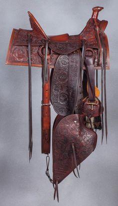 Bill Allison, L.D. Stone (1893 San Francisco) Tribute Saddle Set