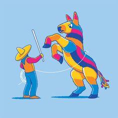 Wild Pinata T-Shirt - Glennz Tees