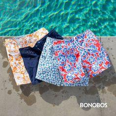 Bonobos men's swimwear, swim shorts and swim trunks! Amazing collection!!!