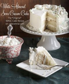 Cake Mix.....The famous White Almond Sour Cream Cake WASC is a...