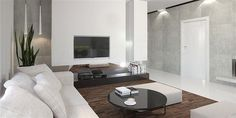 Projekt domu HomeKoncept-26 165,36 m2 - koszt budowy - EXTRADOM Interior Modern, Bungalow, Building A House, House Plans, New Homes, Home Appliances, Sofa, House Design, Living Room