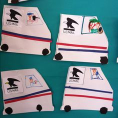 My son made mail trucks like this in preschool ~ more detailed with a pocket to hold Valentines they were adorable!