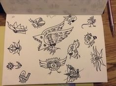 An hours worth of doodle creatures....