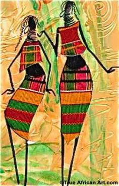 South African Art | African People Paintings
