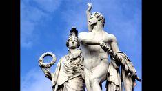 Antonio Lucio Vivaldi (Venecia Gloria en Re mayor, RV Greek Mythology Gods, Greek Gods And Goddesses, Ancient Rome, Ancient Greek, Antonio Lucio Vivaldi, Sculpture Art, Sculptures, Signo Libra, Roman Gods