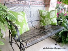 Shelly's Creations: Refurbished Patio Furniture
