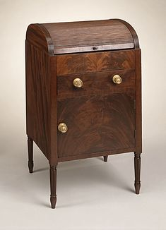 Tambour Dressing Table  Duncan Phyfe (attributed to)  1795-1810, LACMA Collections Online