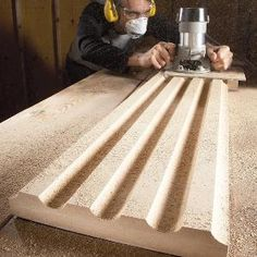 MDF (medium-density fiberboard) is inexpensive, durable, and a good choice for many woodworking and carpentry projects. Learn how to use it correctly, and how to avoid common mistakes. Source by family_handyman . Woodworking Skills, Learn Woodworking, Woodworking Techniques, Woodworking Plans, Woodworking Jigsaw, Youtube Woodworking, Woodworking Workshop, Popular Woodworking, Carpentry Projects