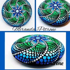 Let the colorful art created by Miranda brighten up a space in your home or find that special one of a kind gift Stone Art Painting, Dot Art Painting, Mandala Painting, Pebble Painting, Pebble Art, Dot Painting On Rocks, Mandela Rock Painting, Mandala Painted Rocks, Painted Rocks Kids
