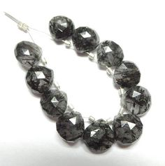 Shop for beads on Etsy, the place to express your creativity through the buying and selling of handmade and vintage goods. Rutilated Quartz, Beads, Natural, Bracelets, Handmade, Top, Stuff To Buy, Vintage, Jewelry
