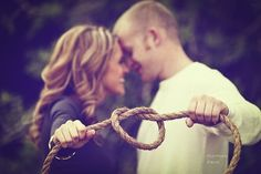 rope prop for tying the knot engagement - Google Search
