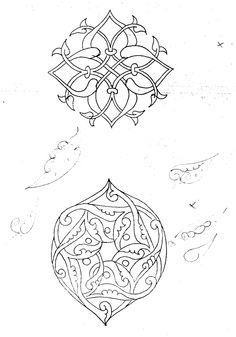 Turkish ornamental motifs