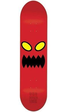 Toy Machine Monster Face 8.0 Skateboard Deck Best Price
