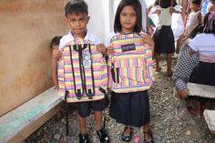 HHC 2014 Slums, Vera Bradley Backpack, School Supplies, Children, Bags, Fashion, School Stuff, Young Children, Handbags