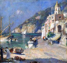 Villani Gennaro, Napoli, 1885-1948, Costiera amalfitana