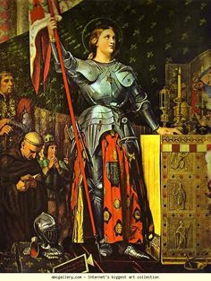 Joan of Arc- led the French army to win the crown for Charles against the English all before she was 20!