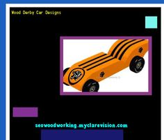 Wood Derby Car Designs 074128 - Woodworking Plans and Projects!
