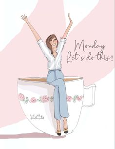 Monday Inspirational Quotes, Happy Monday Quotes, Monday Morning Quotes, Daily Journal, Bullet Journal, Girl Quotes, Funny Quotes, Notting Hill Quotes, Good Morning Cards