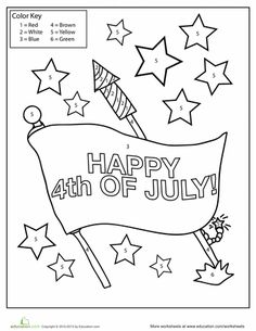 flag day worksheets first grade