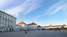 Nymphenburg Palace courtyard