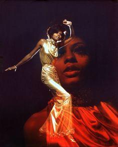 Diana Ross by Harry Langdon (1975)